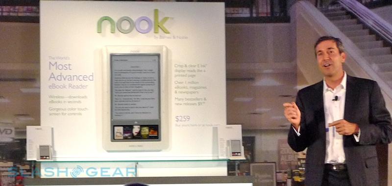 Barnes and Noble nook hands-on [Video]