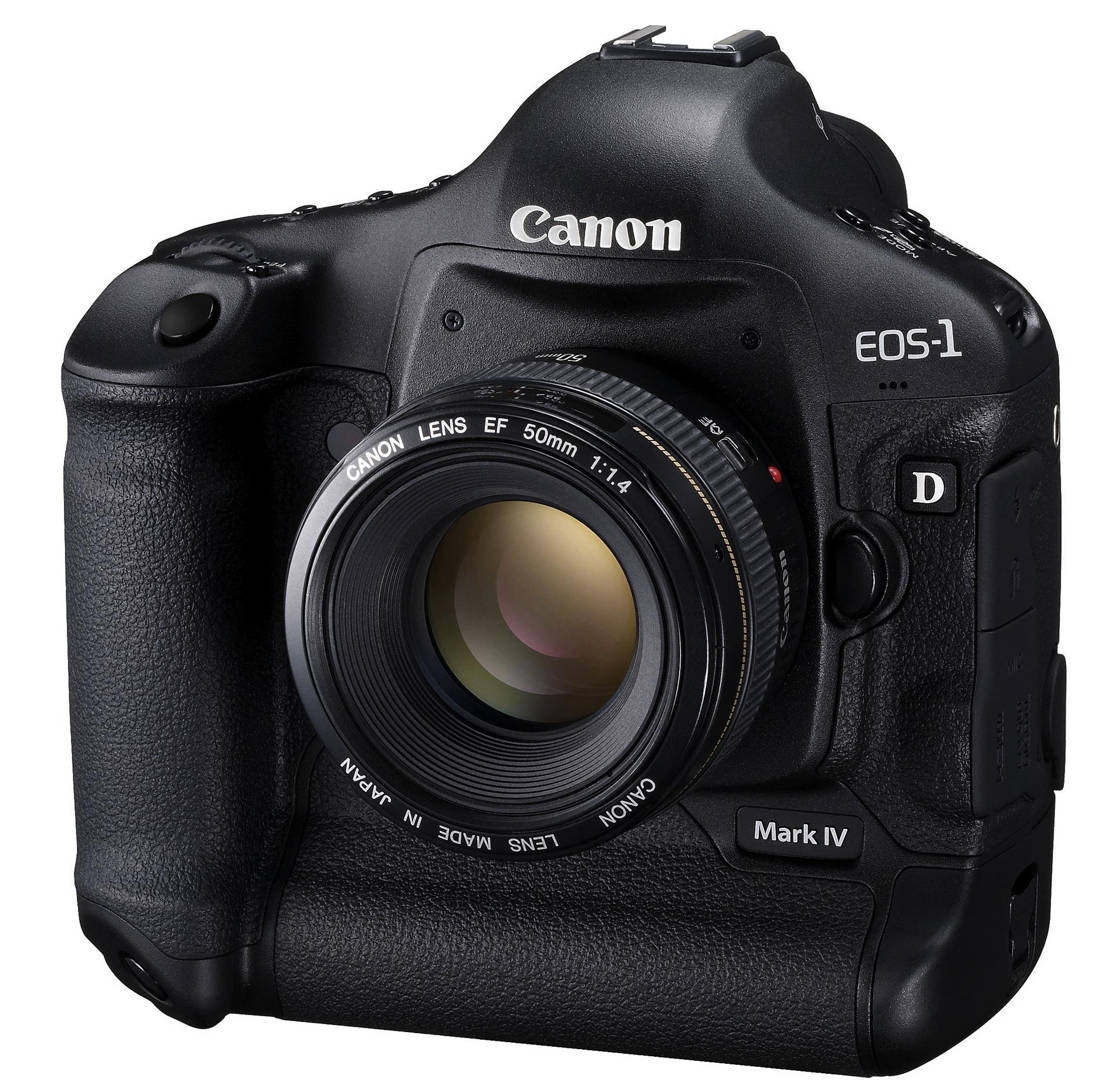 Canon EOS-1D Mark IV DSLR totes 16MP, 1080p video & crazy ISO range
