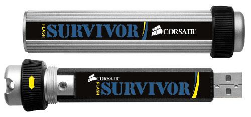 Corsair drops new 64GB Flash Survivor USB drive