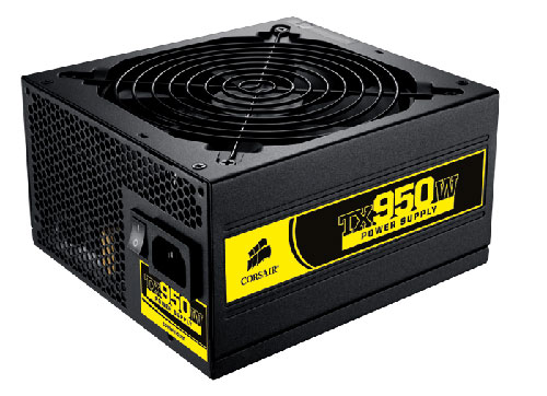 Corsair TX950W PSU for gamers launches