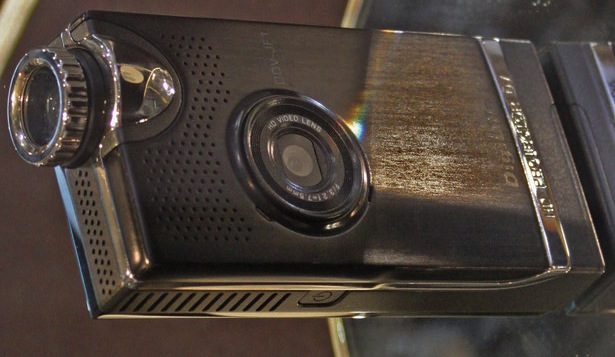 DigiLife DDV-JF1 HD camcorder with integrated pico-projector
