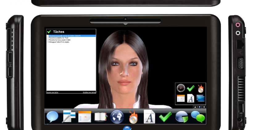 eviGroup Pad 10.2-inch Win7 slate with Seline AI