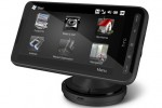htc hd2 car holder front