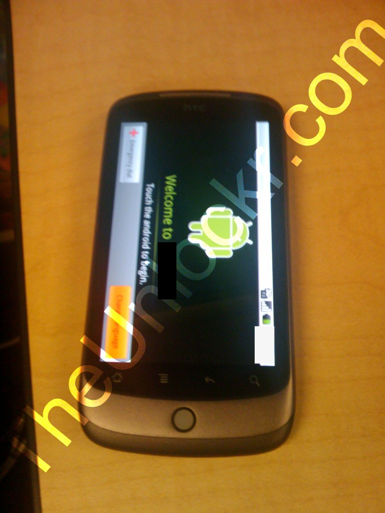 HTC Dragon caught in wild? New HTC Android device spotted
