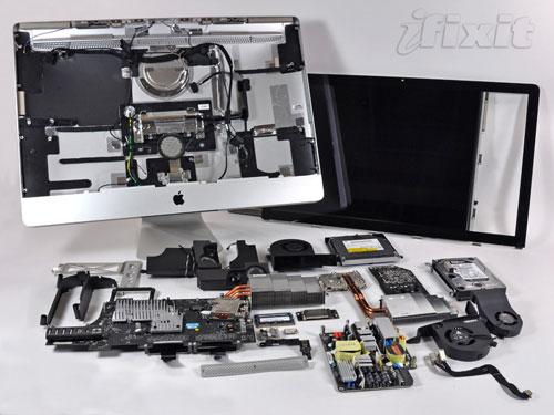 27-inch iMac torn asunder, geeks everywhere cry a little bit