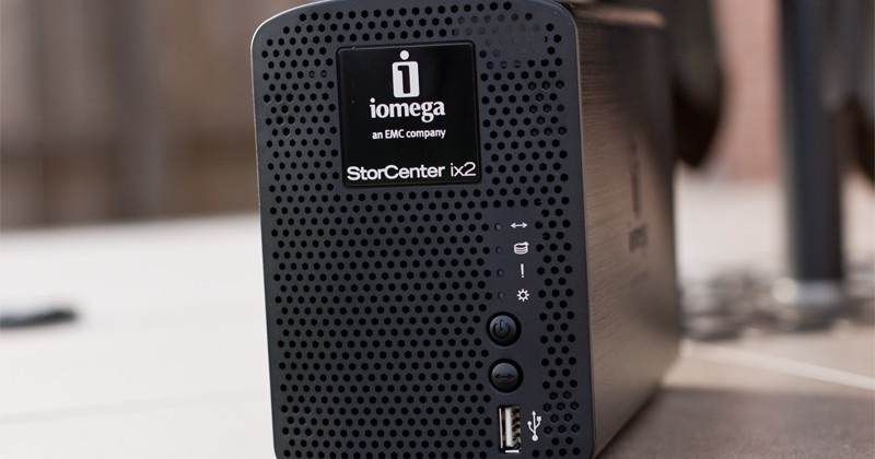 Iomega StorCenter ix2-200 NAS Review