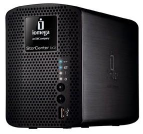 Iomega StorCenter ix2-200 gets bigger, swappable drives