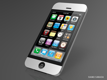 iPhone concept borrows iMac style