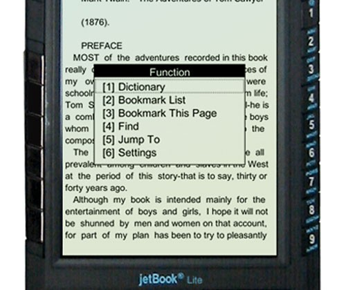 """jetBook-Lite lays claim to """"most affordable"""" eBook reader title"""