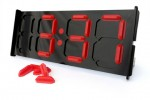 Ponoko offers weirdest clock ever called digits