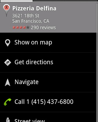 Google Maps Navigation beta for Android 2.0: turn-by-turn, Car UI, more [Video]