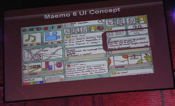 Maemo 6 UI concept revealed; capacitive & multitouch support confirmed