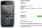 Nokia E72 hits official preorder in UK; coming this month