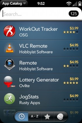 Palm launch paid webOS apps, review-free web distribution & analytics access