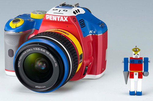 Pentax unveils limited edition (and very colorful) Korejanai K-x DSLR camera