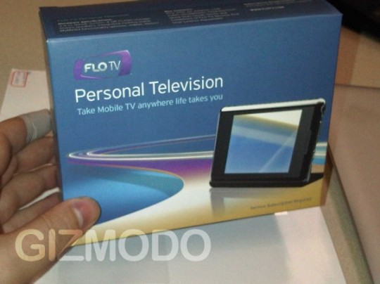 Qualcomm FLO TV PTV packaging spotted: full release likely imminent