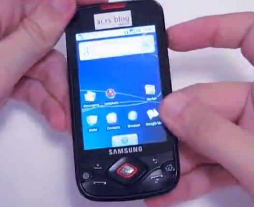 Samsung i5700 Spica gets video demo