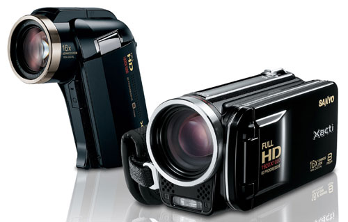 Sanyo unveils VPC-HD2000A and VPC-FH1A dual cameras