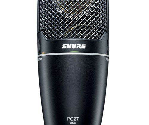 Shure PG27USB and PG42USB microphones now shipping