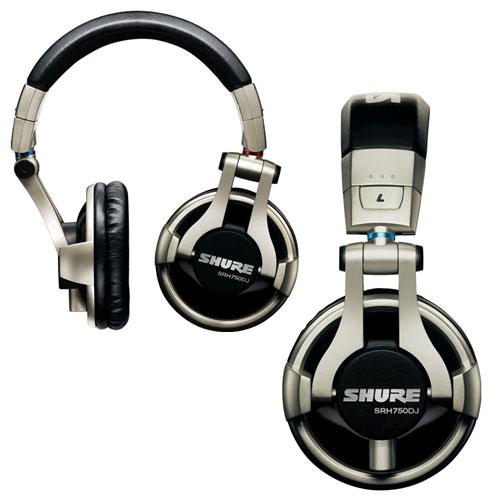 Shure unveils new SRH750DJ pro DJ headphone