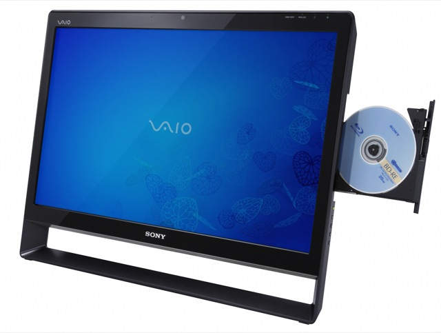 Sony VAIO L Touch HD PC/TV multitouch all-in-one debuts