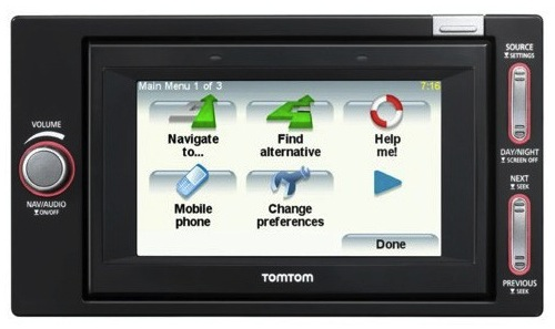 "TomTom GO I-90 dash-integrated PND promises ""infotainment"""