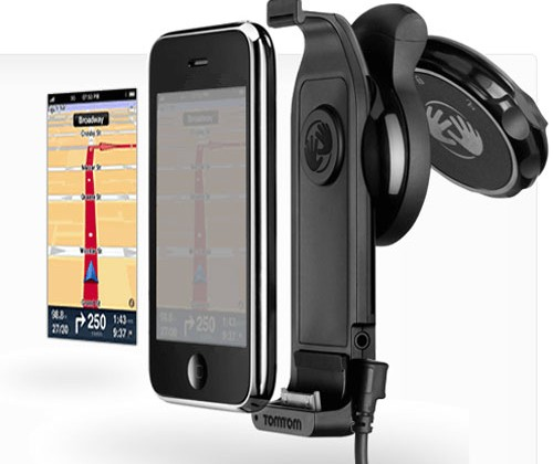 TomTom iPhone Car Kit hits US Apple Store