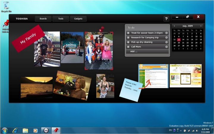 Toshiba Satellite U505 Touch & M505 Touch get Windows 7 multitouch