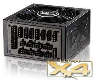 Ultra X4 Modular Power Supply: up to 1600W