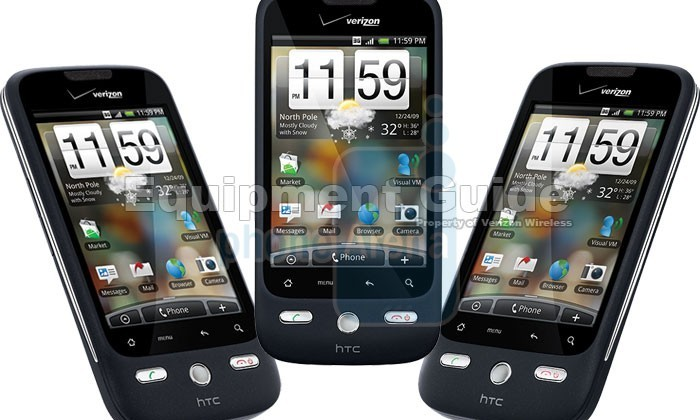 Verizon DROID Eris by HTC to be $99; Hero specs confirmed
