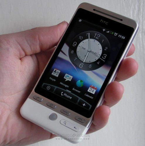 HTC Hero Android 2.1 due Feb/March with Sense update