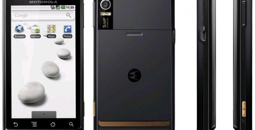 Motorola MILESTONE Expansys preorder confirms December 7th ship date