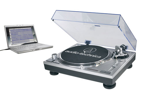 Audio-Technica AT-LP120-USB turntable breaks cover