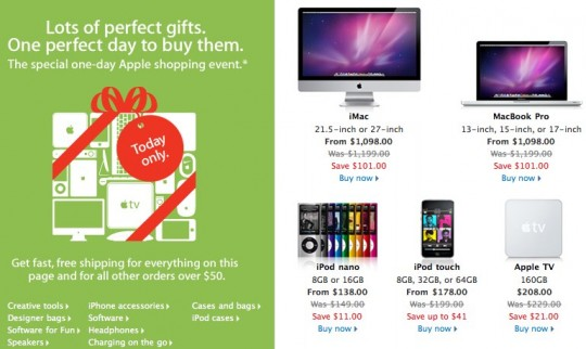 Apple Black Friday one-day sale kicks off: $101 off an iMac or MBP