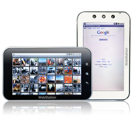 "Camangi WebStation Android UMPC on sale ""no later than early December"""