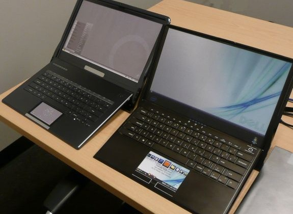 Dell Adamo XPS prototypes played with multitouch trackpads, touch-sensitive keyboards, more