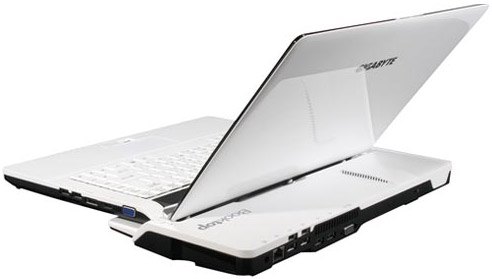 Gigabyte Booktop M1305 ultraportable gets GPU-toting desktop dock [Video]