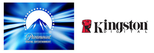 Kingston and Paramount team up for movies on flash memory
