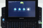 Sony UX490 UMPC hugely modded: CPU switched, 3G injected, quad-OS