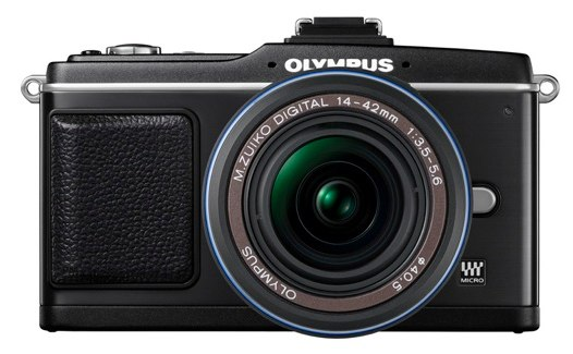 Olympus PEN E-P2 Micro Four Thirds camera now shipping