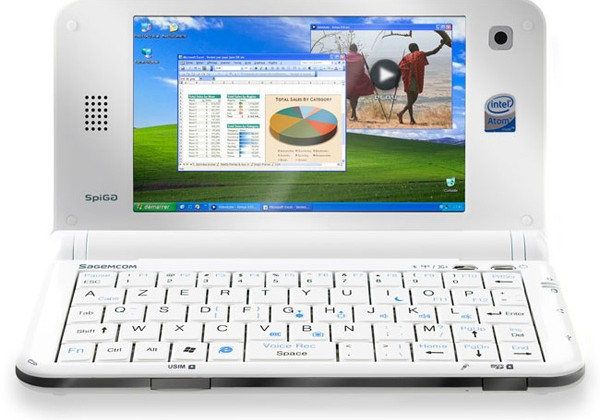 Sagemcom Spiga MID: yet another rebadged, expensive UMID