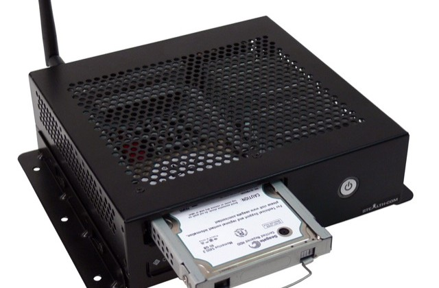 Stealth LPC-395F fanless rugged mini-PC crying out for in-car installation