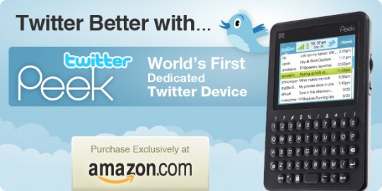 TwitterPeek gets official: $200 for lifetime mobile tweeting