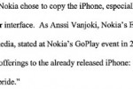 "Apple sue Nokia: ""Companies must compete by inventing their own technologies, not just by stealing ours"" [Updated]"