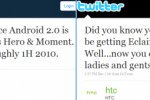 Sprint confirm Android 2.0 update for Samsung Moment & HTC Hero in 1H 2010