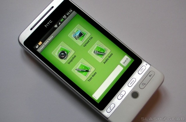 Evernote for Android released