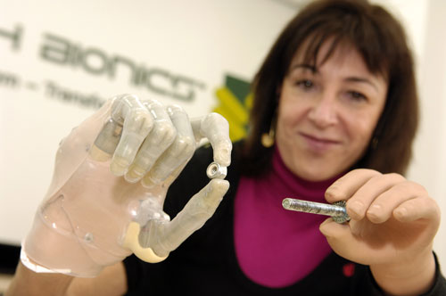 Touch Bionics unveils world's first bionic finger