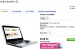 Nokia Booklet 3G up for UK preorder: £649