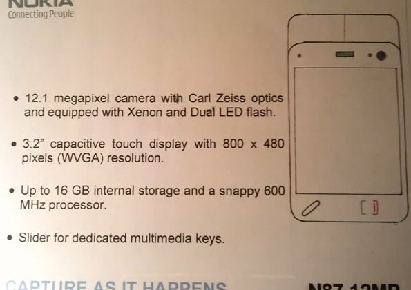 Nokia N87 12MP tipped to replace N86 [Video]