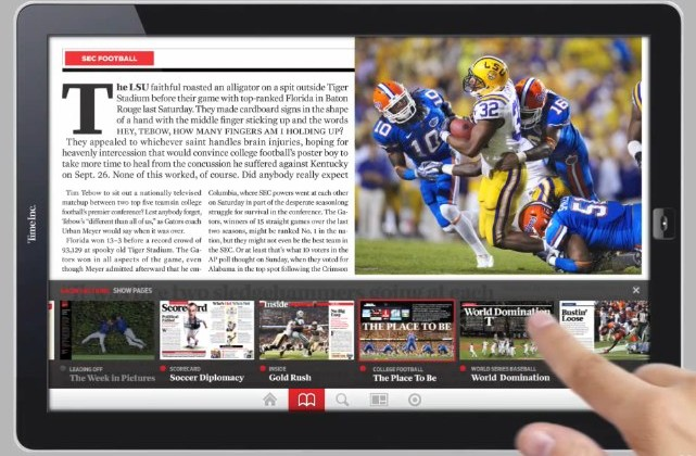Sports Illustrated gets touch in tablet concept [Video]